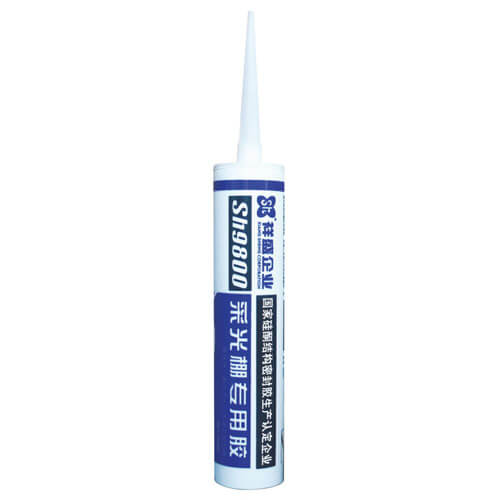 Sika Silicone sealant for glass lighting shed