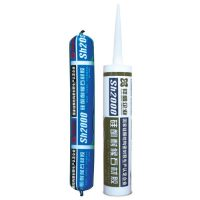 Silicone weatherproof sealant for stone