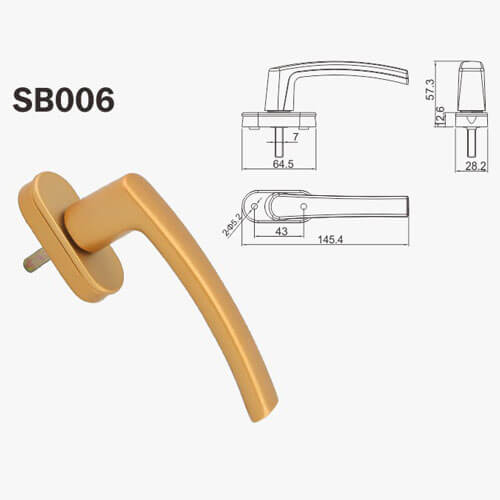 multipoint lock handles