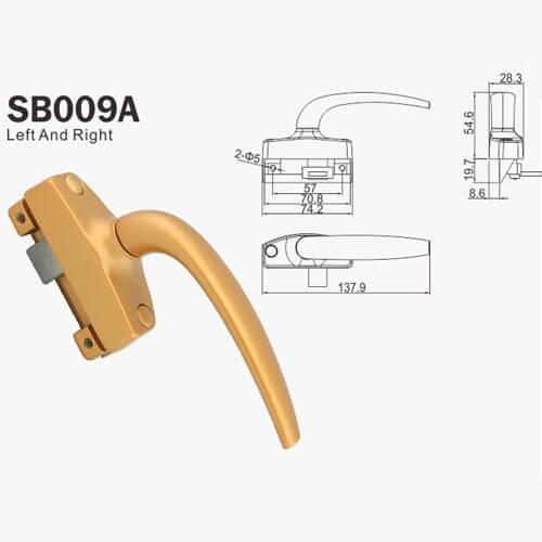 front door locks and handles