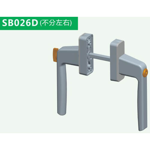 aluminium patio door handles