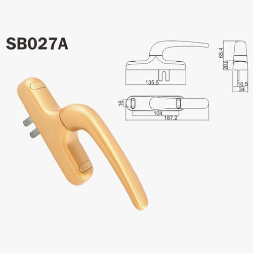 aluminium door locks and handles