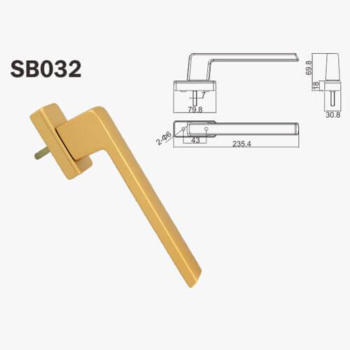 door latch handle