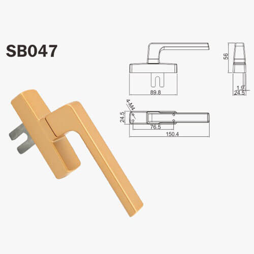 handleset for double doors