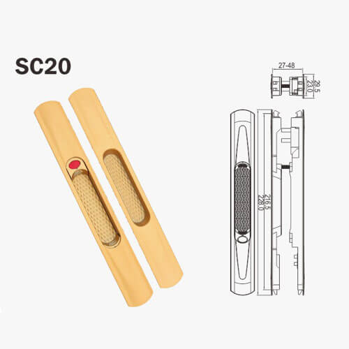 slide window locks