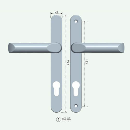 lever lock handles