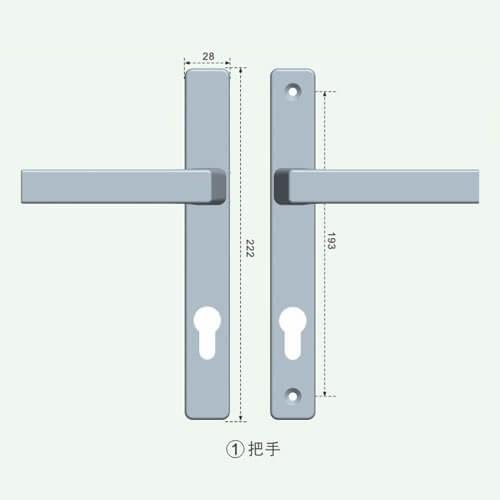 lever locks for doors