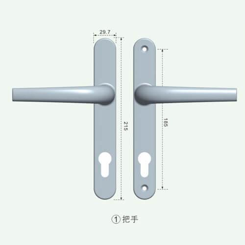 entrance door handles