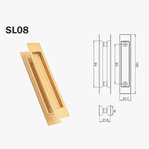cavity sliding door lock