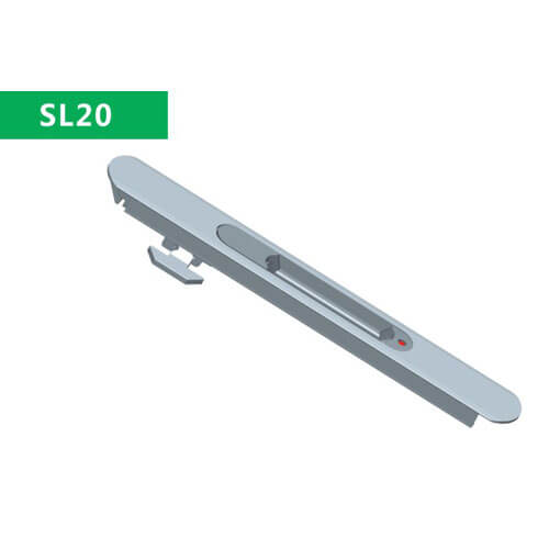 aluminium window latch