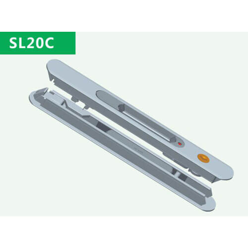 double sliding door lock